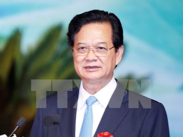 越南政府总理阮晋勇即将对老挝进行工作访问 hinh anh 1