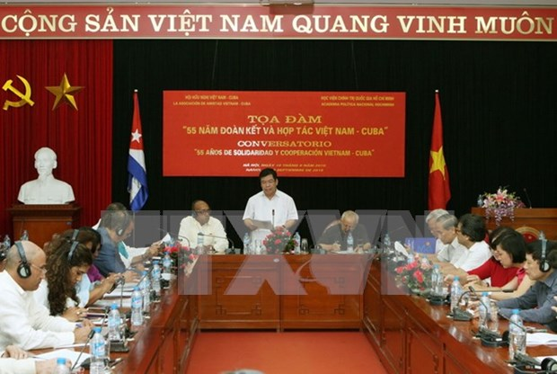 越南与古巴努力推动两国传统关系深入务实发展 hinh anh 1