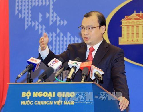 黎海平发言人:越南对长沙和黄沙群岛拥有无可争辩的主权 hinh anh 1