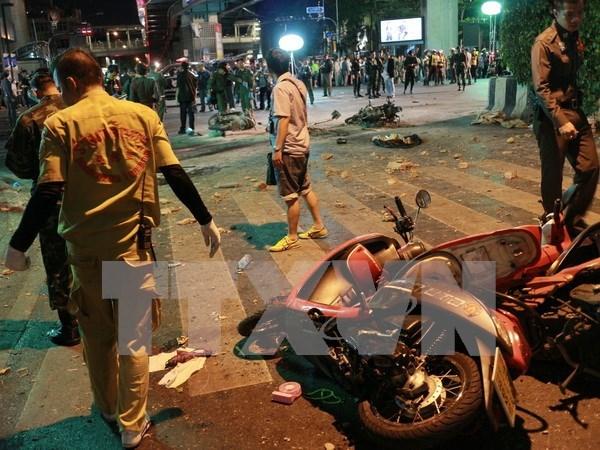 泰国警方:曼谷爆炸案主犯已逃往孟加拉国 hinh anh 1