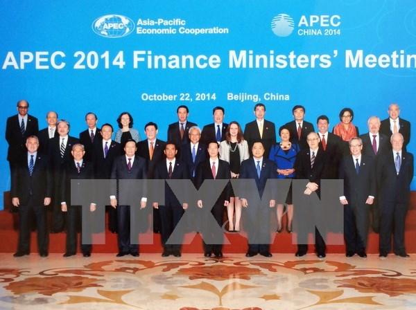 亚太经合组织财长会议在菲律宾召开 hinh anh 1