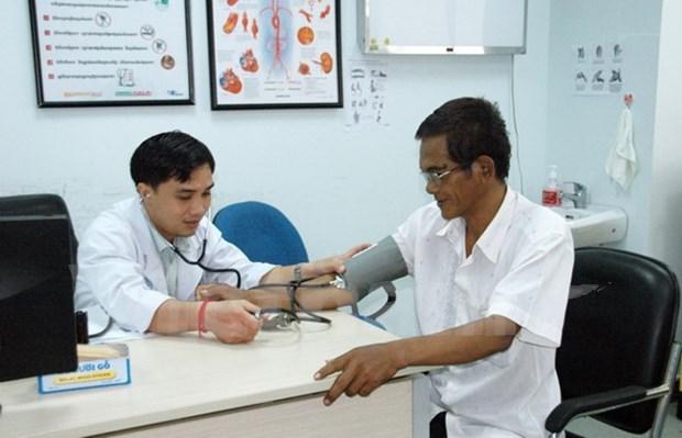 大水镬-金边医院在柬埔寨积极展开各项慈善活动 hinh anh 1