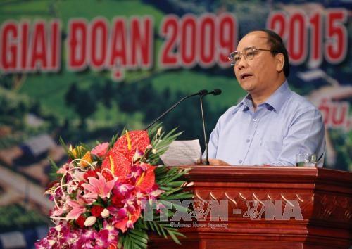 阮春福副总理:莱州省需集中做好扶贫济困工作 hinh anh 1