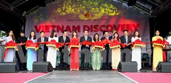 武文宁副总理出席2015年探索越南节开幕式并剪彩 hinh anh 1