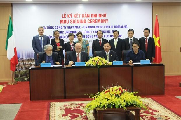 促进越南平阳省与意大利艾米利亚—罗马涅大区的合作关系 hinh anh 1