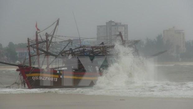 3号台风变弱成了热带气压中部地区继续发生雷雨天气 hinh anh 1