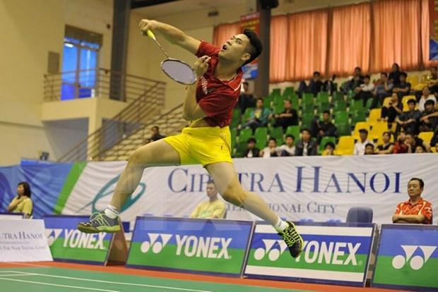 2015年越南全国羽毛球锦标赛在越南太原省开幕 hinh anh 1