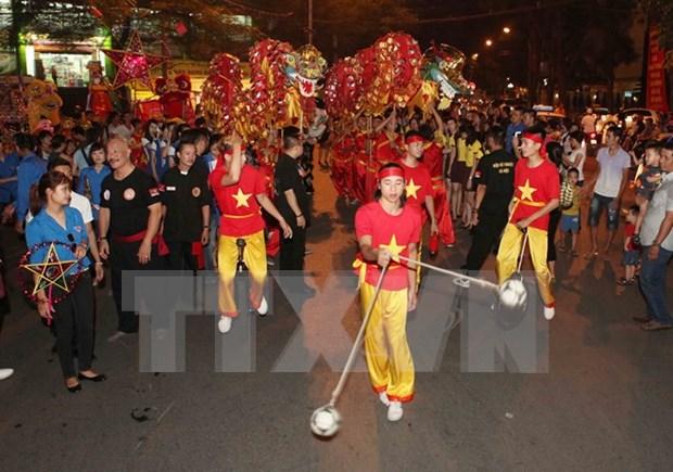 2015年河内古街中秋节拉开序幕 hinh anh 1