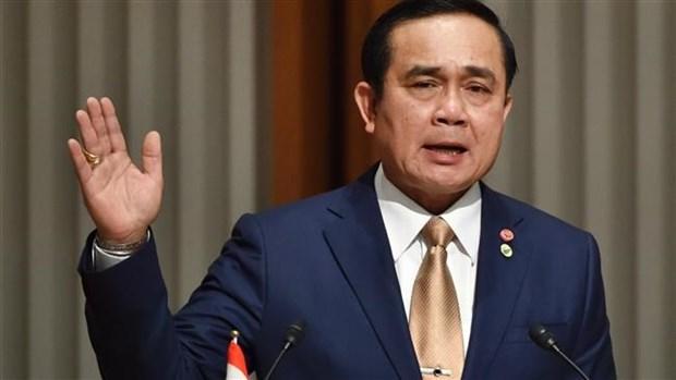 泰国总理提及恢复使用老版宪法的可能性 hinh anh 1
