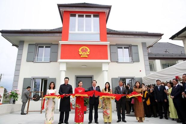 越南常驻联合国外交使团总部大楼正式落成 hinh anh 1