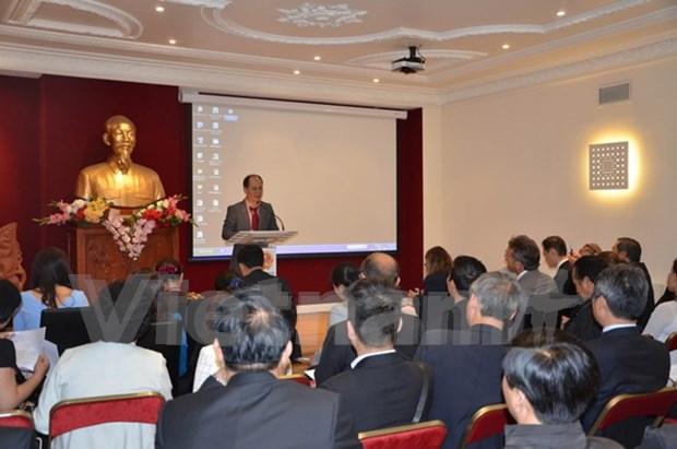 法国继续为在法投资的越南企业提供便利 hinh anh 1