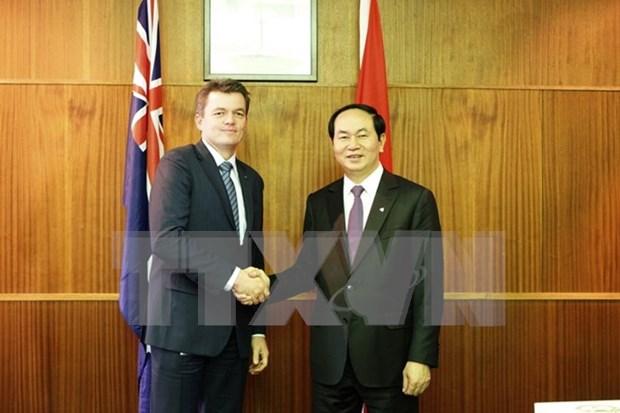 越南公安部部长陈大光结束对澳进行的访问 hinh anh 1