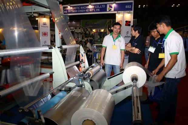 2015第十五届越南国际塑料橡胶工业展览会吸引300家企业参展 hinh anh 1