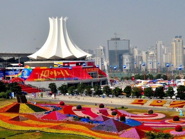 第十二届中国-东盟博览会在中国广西南宁开幕 hinh anh 1