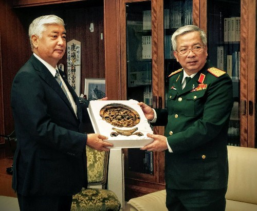 越南与日本促进国防务实合作 hinh anh 1