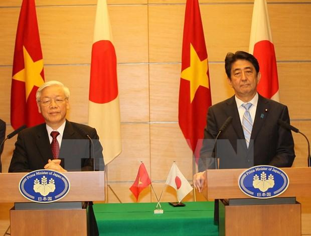 日本媒体高度评价越日两国合作关系 hinh anh 1