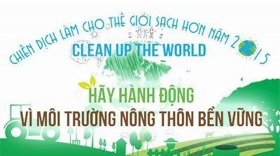 2015年《让世界清洁起来》运动在越南兴安省启动 hinh anh 1