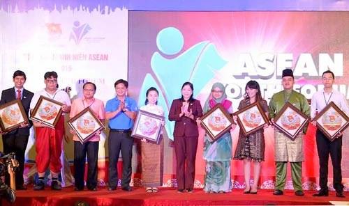2015年东盟青年论坛在胡志明市举行 hinh anh 1
