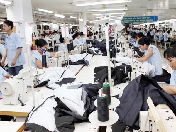 2015年前8个月越南纺织品服装出口额达149亿美元 hinh anh 1