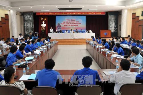充分发挥越南年轻一代在维护海洋主权宣传工作中的作用 hinh anh 1