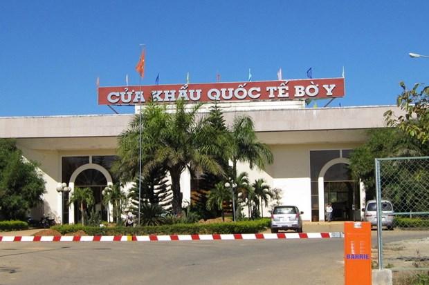 越南政府指导解决昆嵩省布依口岸货物通关时遇到的问题 hinh anh 1