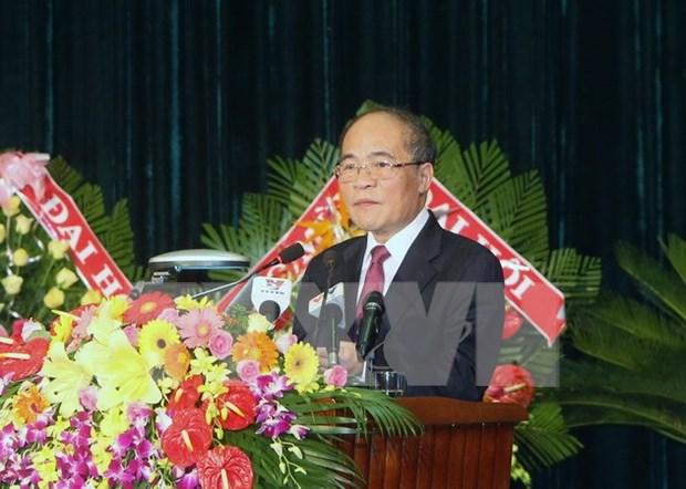 越南国会主席阮生雄:庆和省力争经济发展处于全国中等偏上水平 hinh anh 1