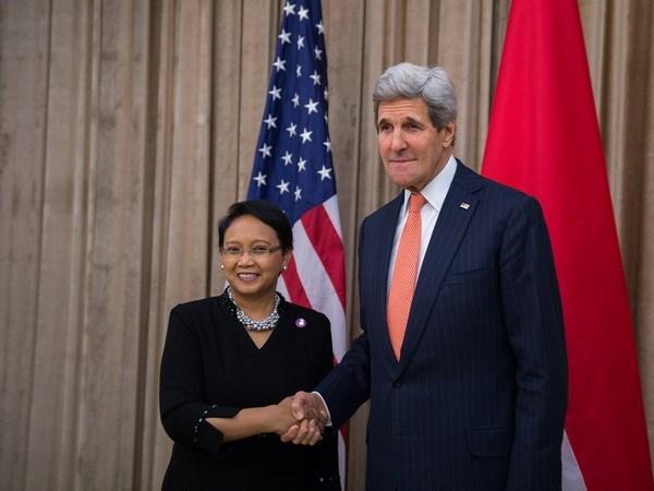 印度尼西亚与美国加强合作 hinh anh 1