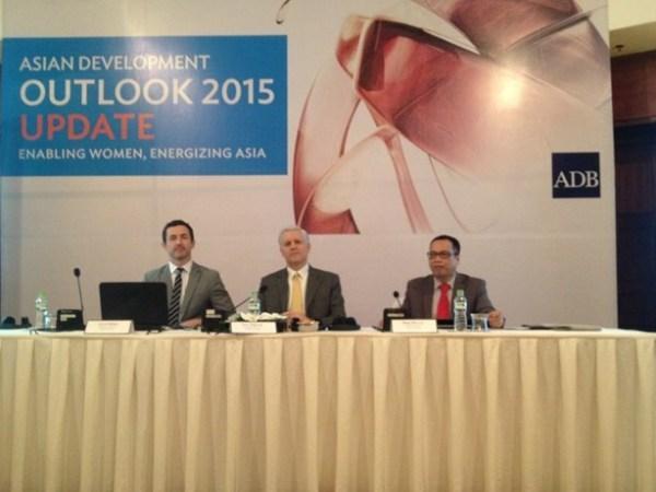 亚洲开发银行上调越南经济增长预测值 hinh anh 1