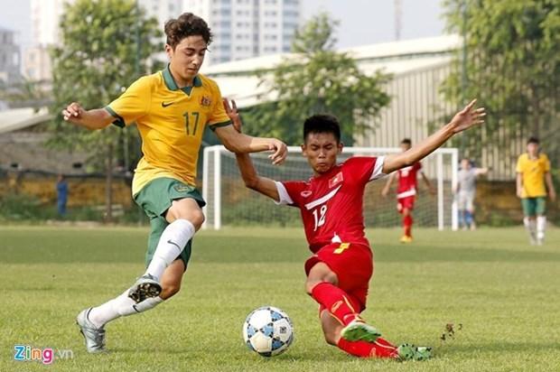 越南U16队晋级2016年亚洲U16青年锦标赛决赛圈 hinh anh 1