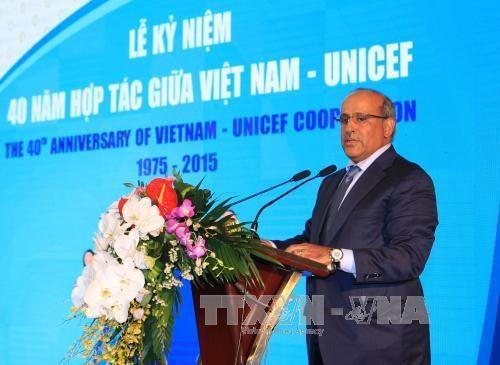 越南在儿童发展方面取得了许多积极进展 hinh anh 4
