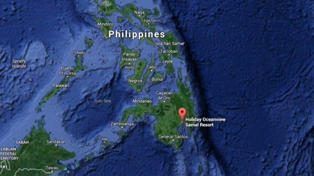 3名外国游客在菲律宾遭武装分子绑架 hinh anh 1