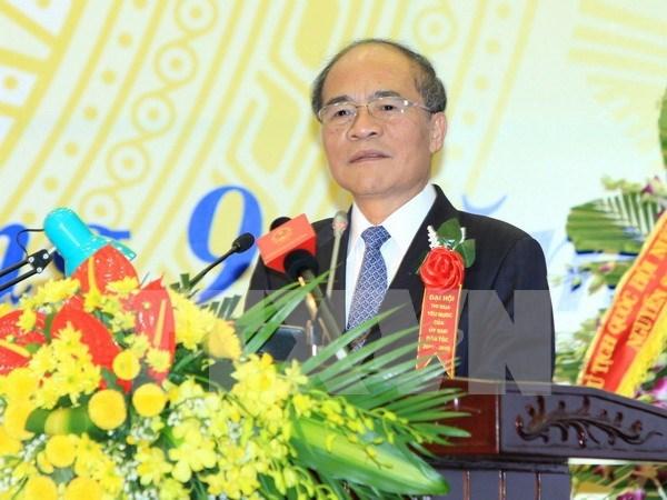 国会主席阮生雄:努力做好民族工作造福各民族同胞 hinh anh 1