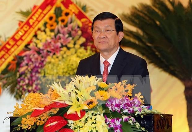张晋创主席:清化省把潜力和优势充分发挥出来促进经济发展 hinh anh 1