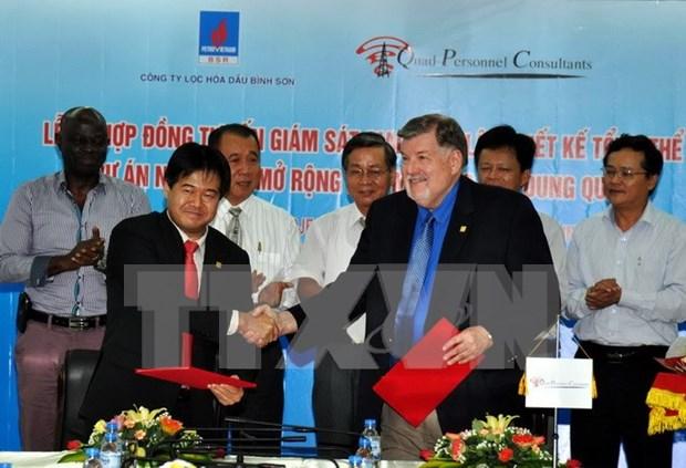 榕桔炼油厂升级扩建项目的监理咨询合同获签 hinh anh 1