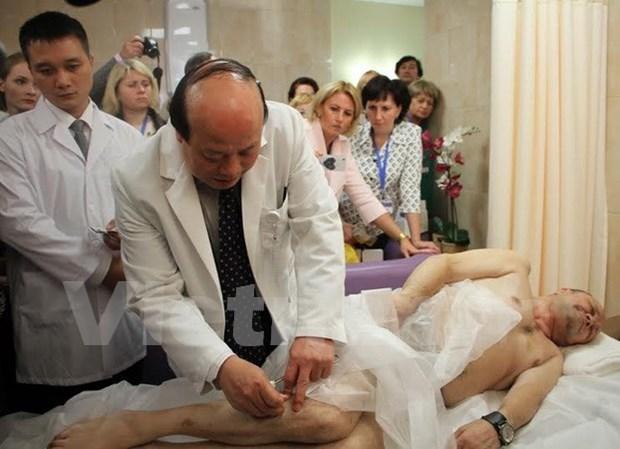 越南在俄罗斯推介传统医学精髓 hinh anh 1