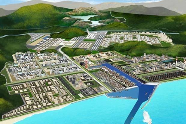 缅甸迪洛瓦经济特区项目第一期工程正式投入使用 hinh anh 1