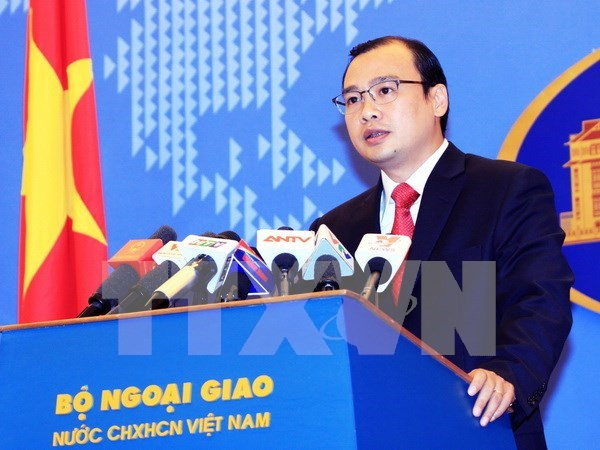 越南坚决反对中国批准发布关于越南长沙和黄沙两个群岛的规划 hinh anh 1