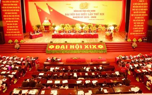 苏辉若同志出席越共北宁省第十九次代表大会 hinh anh 1