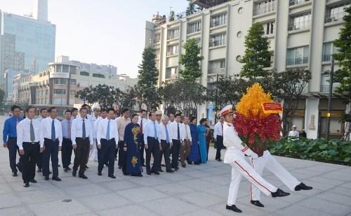 胡志明市隆重纪念南部抗战日70周年 hinh anh 1