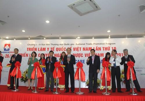 第10届越南国际医疗展在胡志明市开展 hinh anh 1
