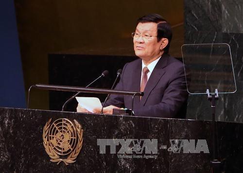 越南将为2030年可持续发展议程做出积极且负有责任的贡献 hinh anh 1