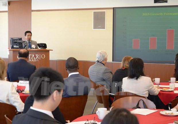 越南企业论坛在加拿大举行 hinh anh 1
