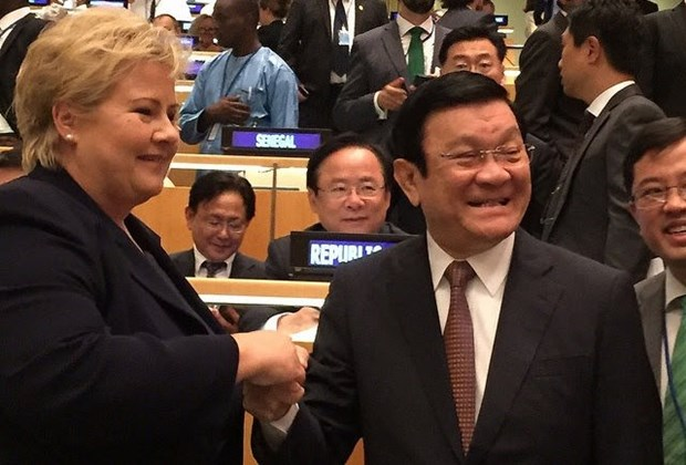 张晋创主席在联合国发展峰会框架内的密集活动 hinh anh 1
