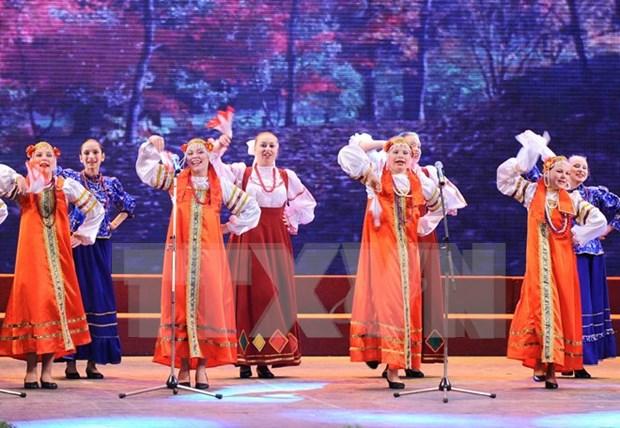 """""""感知俄罗斯""""——俄罗斯文化节在河内开幕 hinh anh 1"""