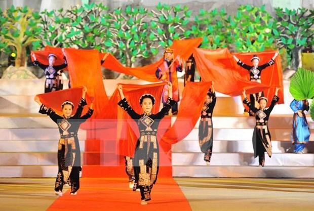 第五届全国岱傣侬三族天曲和天琴艺术节圆满落幕 hinh anh 1
