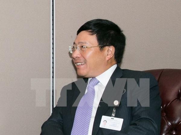 喀麦隆对外关系部长:喀麦隆将为越南投资商创造便利条件 hinh anh 1