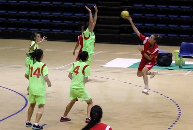 2015年第四届东南亚手球锦标赛:东道主越南队夺得两项冠军 hinh anh 1