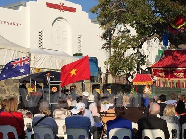 越南参加2015年西澳大利亚农业博览会 hinh anh 1