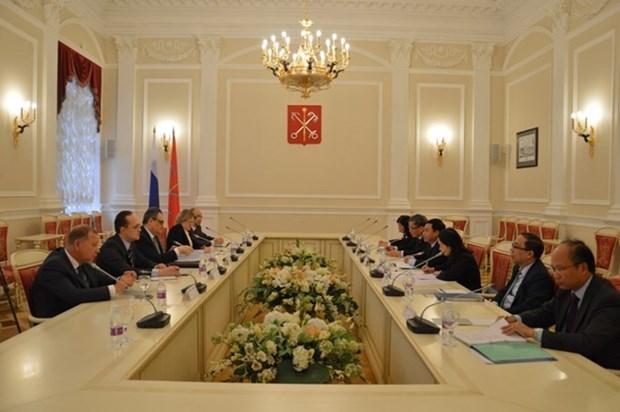 越俄举行第八次年度战略对话会 hinh anh 1