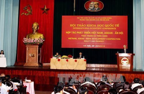 越南与印度和东盟与印度合作关系:现状与前景 hinh anh 1